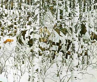 Bev Doolittle painting (google images)