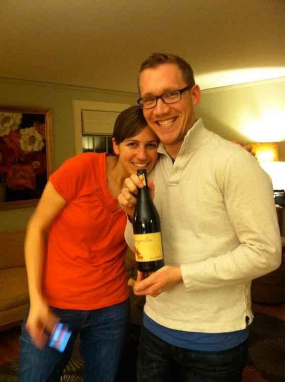 Susanna and Matty and fragolino!