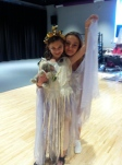 My adorable Titania and her fairy from Midsummer Night's Dream