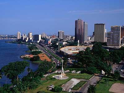 """Abidjan, Cote d""""Ivoire (google images)"""