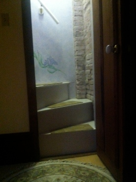 Stairs to my attic room