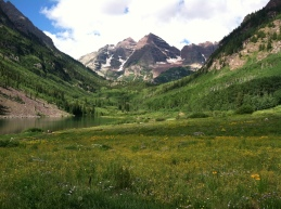 The Maroon Bells, CO