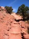 Canyonlands NP trail to Upheaval Dome