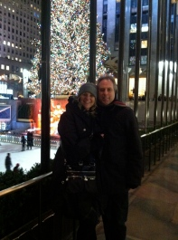 Visiting my friend Jeff in NYC at Christmastime