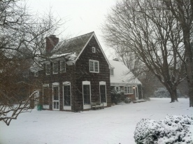 "January's ""cottage"" on Long Island"
