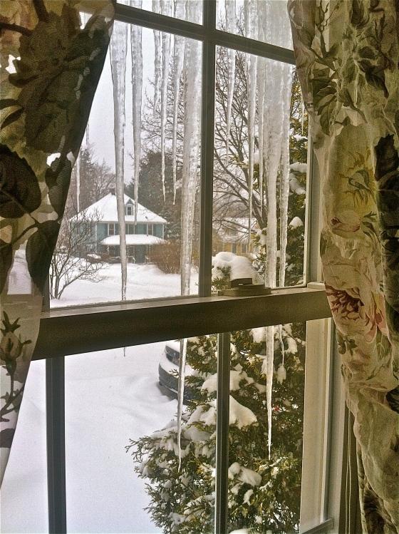 Snowed-in, Massachusetts